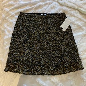 Rouched skirt